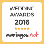 logo wedding award par mariages.net 2016